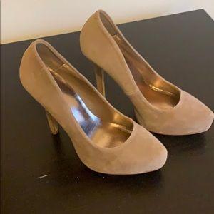 Suede 4-inch Heels